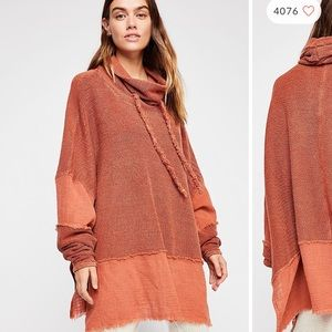 ❌SOLD❌NWT Free People Zoe Pullover